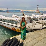 Boat to the mainland, with Luxury Travel Camel