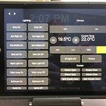 iPad Steuerung Zimmer 604