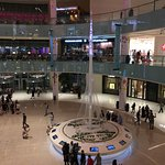 Dubai Mall with Creek Tower exhibit