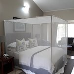 The room was comfortable, clean and airy