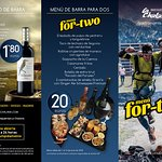 Jornadas 'Menú for two' del 1 al 14 de junio