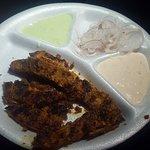 Had Special Veg Fish and soya keema with rumali roti