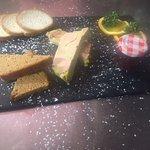 assiette de foie gras fait maison