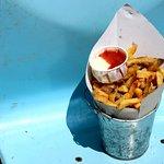 Classic Fries & Wasabi-Mayo and Homemade Ketchup