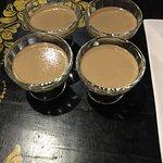 Dinner dessert : coffee jelly