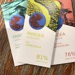 Pangea, chocolate made in Aitona, Catalonia, made by Xavier Palau. Academy of Chocolate Awards