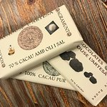 Agramunt. Xavier Rodriguez makes this chocolate with cocoa from Africa, Venezuela and Ecuador.