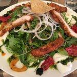 Salade-raps à base de poulet elle est énorme