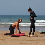 Small group surf lessons means you progress quicker!
