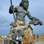 Neptune photo op.
