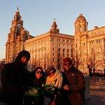 Passeio a pé de graça em Liverpool - Gratis - Passeio Portugues