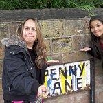 Placa roubada Penny Lane em Liverpool - Passeio com Brasileiro - Portugues