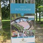 welkomsbord Pietersheim