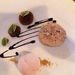 terrine de foie gras de canard mi-cuit au vin doux naturel de Rasteau