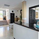 Recepción apartamentos