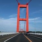 真っ赤な橋桁