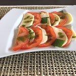 Tomates Mozzarella Basilic