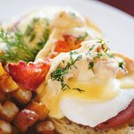 Firefly Lobster Benedict - available during Sunday Brunch