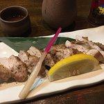 鶏モモ肉の黒胡椒焼き