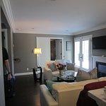 Bocce penthouse living area