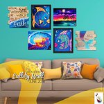 Create your own collage wall!