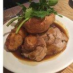 Lamb roast.