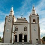 Fachada da igreja matriz de Barbalha