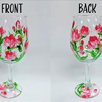 Paint your own wine glass set!