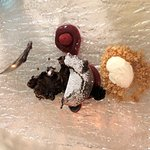 Chocolate pudding desert, amazing!!!