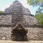 Piramide en Cobá