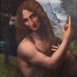 Saint John the Baptist - Gian Giacomo Caprotti, also known as Salai
