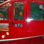 a old tube train