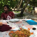 Seafood in Mirissa