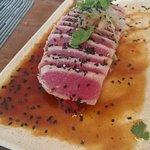 Spicy Tuna Tataki.