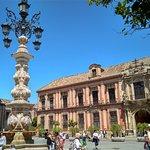 En la plaza Virgen de los Reyes