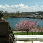 Criss-Crossing the Delaware Hike - view from south side of Buffalo History Museum