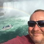 The Maid of the Mist, a Rainbow, the Falls and ME!