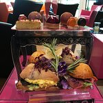 A marvellous afternoon tea for two with champagne. Excellent friendly staff.