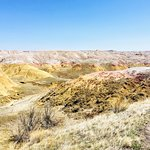 beautiful colors at the yellow mounds