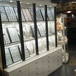 My new display which I show hundrents silver creations at very lοw prices.