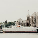 Arrive in the Victoria Inner Harbour