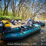 We offer group raft trips, 3 or 4 anglers, 2 boats, 2 guides, and a great experience