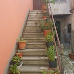 scalinata abbellita