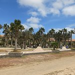 Hôtels bordant la plage est.