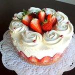 Erdbeer - Joghurttorte