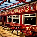 The Laughing Donkey Family Bar - showing all live sports and free family entertainment every wee