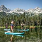 Lake SUP in Fernie, BC
