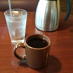 The coffee and carafe