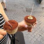 Two Sizes -Tiramisù in Rome- Photo