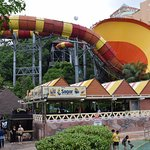 one of the water rides